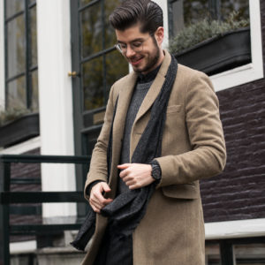 Camel coat for men. Outfit inspiration for this fall.